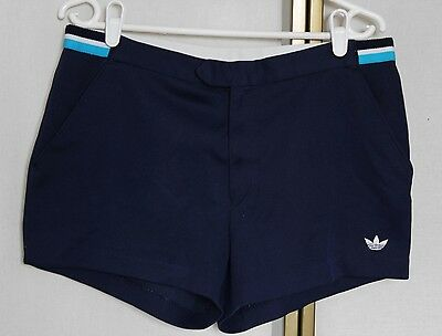 """Vintage 80s Adidas Tennis Shorts 32"""" Made in West Germany"""