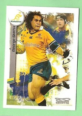2003  Rugby Union Card  #104 George Smith, Australian Wallabies
