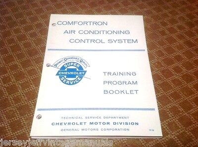 1966 Chevrolet Comfortron Air conditioning Manual Four Season Impala SS Caprice