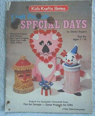 Craft Projects for Special Days No. 7435