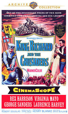 King Richard And The Crusaders [New DVD] Manufactured On Demand, Full Frame