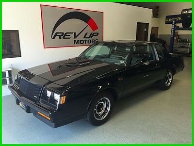 1987 Buick Grand National 3.8 V6 Turbo 1987 Buick Regal Grand National LOW Miles AWESOME Survivor Documented History
