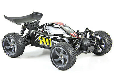 Himoto Spino 1:18th RTR 2.4G Radio Control RC Electric Powered Brushless Buggy