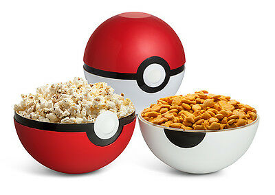 Pokemon Go Poke Ball Serving Bowl Set Party Bowl Collectible Bowl Xmas Gift New