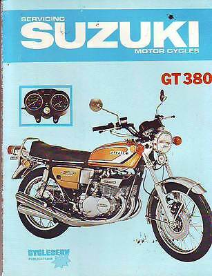 Suzuki    Gt380  1974 Workshop Service  Repair  Manual