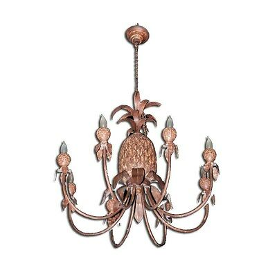 Silkroute CD5602PCD Pineapple Eight Light Chandelier