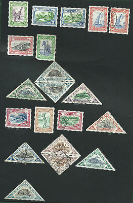 Portugal colonies Mozambique co MH and used old stamps