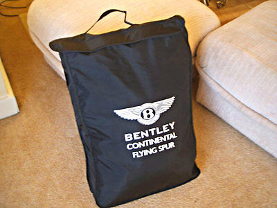 NEW Bentley Motors Continental Flying Spur indoor sectional car cover set