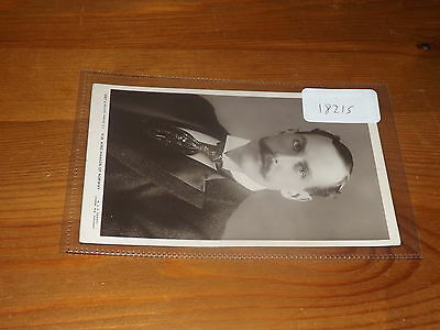 Old  postcard our ref#18215 KING HAAKON OF NORWAY RP