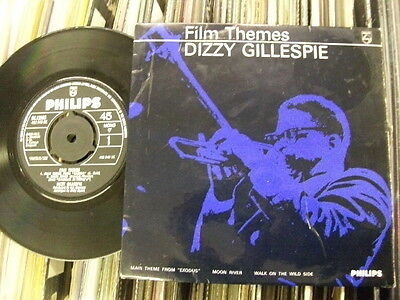 Dizzy Gillespie E.p.film Themes.1964Philips+Pic.cover Inc.walk On The Wild Side.