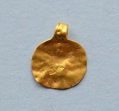 Medievil Viking period Golden pendant