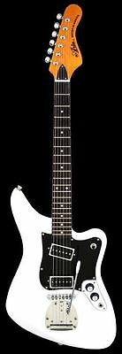 ARIA 1532 VW Aria Retro Electric Guitar, Vintage White