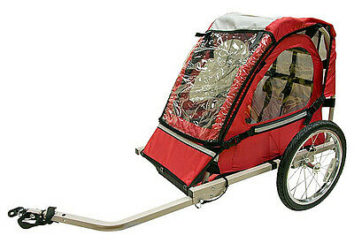 Single Buggy Child Bike Trailer RED, Cycle Trailer