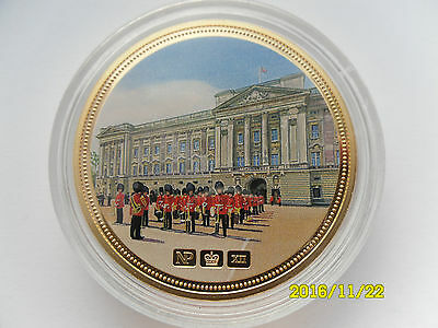 Celebrating Great Britain Numisproof 24 Ct Gold Plated Picture Medal #1