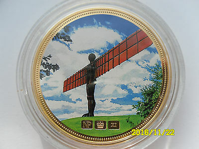 Celebrating Great Britain Numisproof 24 Ct Gold Plated Picture Medal #3