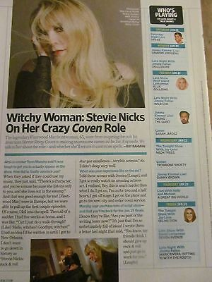 Stevie Nicks, Full Page Clipping