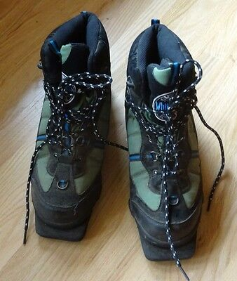 Whitewoods EU 45 12 Backcountry Cross Country Ski Boots 3 Three Pin Nordic Used