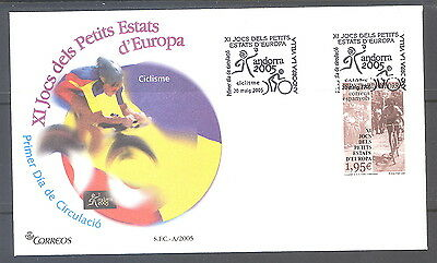 Spanish Andorra FDC XI Games of the Small States of Europe 2005