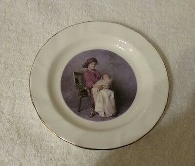 MEMROBILIA DISH THE QUEEN MOTHER and PRINCE HENRY