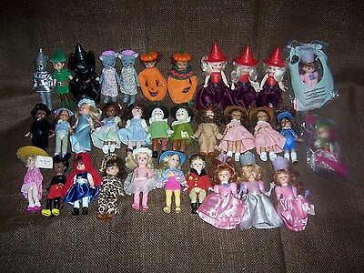 LOT OF 33 - MADAME ALEXANDER McDONALDS DOLLS - SOME RARE and HTF