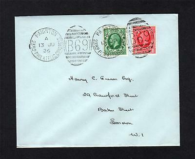 1936 Philatelic Congress Cancels On Cover