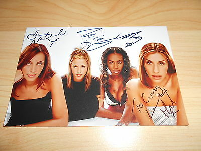 Pop Stars All Saints Fully Hand Signed Photo