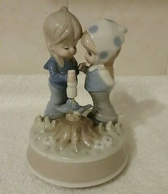 Musical Boy And Girl Ornament