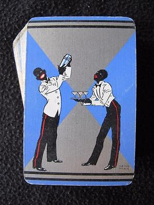 VINTAGE ART DECO 1930's PACK OF PLAYING CARDS - COAKTAIL WAITERS  - HELEN McKIE