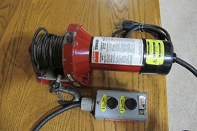 Electric Winch: Dayton Electric Winch on
