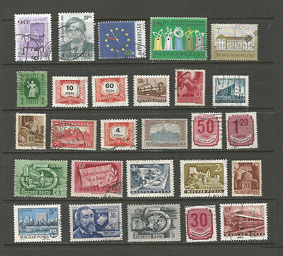 Hungary used selection, 1p per stamp!! [5 scans]