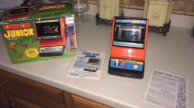 Donkey Kong Junior Hand Held From 1983! With Box Works Great!rare!clean!