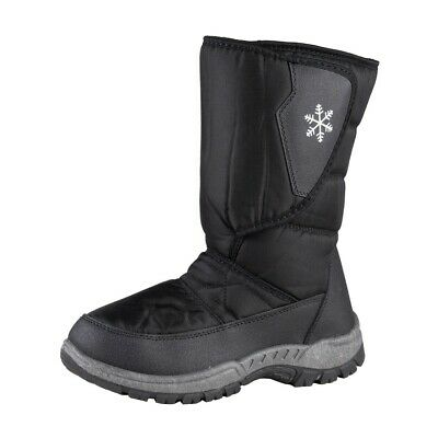 Trekk Star Ladies Thermal Boots, Winter, Snow, Boots, Shoes, Warm, Black