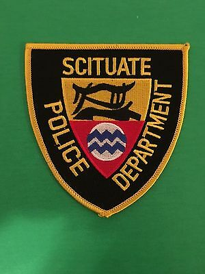 Scituate Rhode Island  Police Shoulder Patch