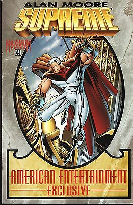 Supreme No.41 / 1996 American Entertainment Exclusive Variant Cover / Alan Moore