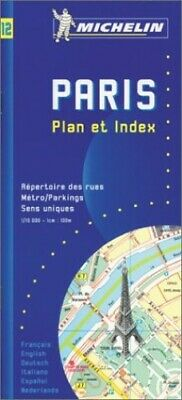 Paris Plus Pratique: Street Index (Micheli... by Pneu Michelin Sheet map, folded