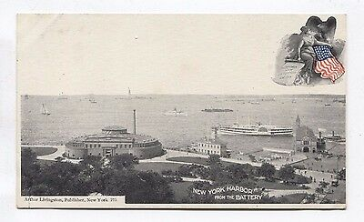 New York Harbor from the Battery