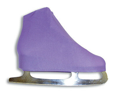A&R Universal Figure Skate Cover Lycra Stretch Ice Skate Boot Cover Lilac 5 SCLC
