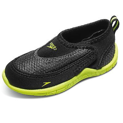 Speedo Toddler Surfwalker Pro 2.0 Swimming Water Shoes - Size 6/7 - Black/Yellow