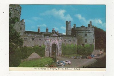 The Entrance To Kilkenny Castle Ireland Postcard 882a