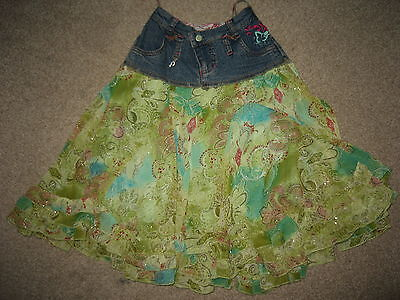 Pampolina Girls Skirt,age 5-6 Or 116Cm.exc.c,worn Twice