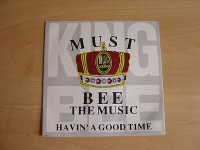 """King Bee: Must Bee The Music 7"""": 1990 UK Release: Picture Sleeve"""