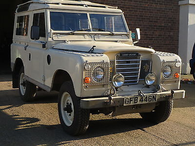 Land Rover Series 3 County Station Wagon Diesel 1974 Only 56,000 Miles From New