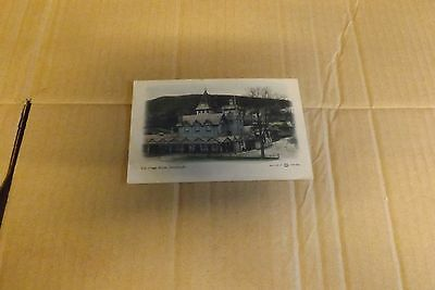 vintage postcard the pump room strathpeffer unposted