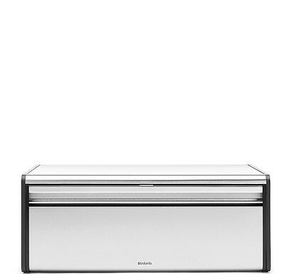 Brabantia Fall Front Fingerprint Proof Bread Box