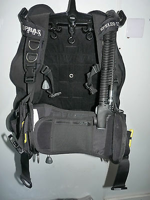Sopras Sub Wing style BCD Adjustable L-XXL, integrated weights, pockets - NEW