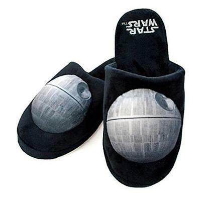 Star Wars Death Star Adult Mule Slippers - New Official Lucasfilm Anti-Slip Sole