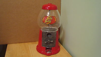 Jelly Belly Die cast Metal & Glass Candy Dispenser