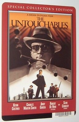 The Untouchables movie backer card - Kevin Costner  - this is NOT a movie