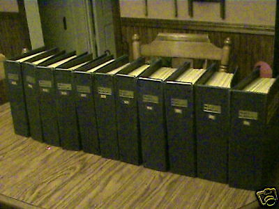 11 full yrs of model railroader magizines,& binders,trains,engines, collection