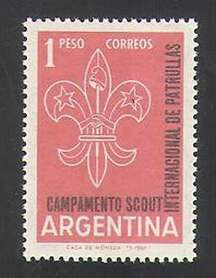 Argentina 1961 Scouts/Scouting/Scout Badge 1v (n35949)